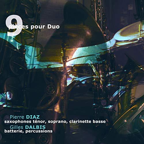 Pièce 9 (Saxophone ténor et batterie baguettes) (Live)