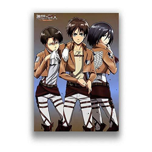 GlISR Póster-Lienzo Impresiones en HD póster Arte de Pared Anime japonés decoración Familiar Pintura Cuadro Modular sin Marco 50 * 70 cm