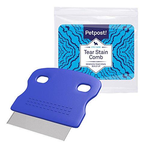 Petpost | Peine Cepillo Limpiador de Manchas Oculares para Perros - Con...