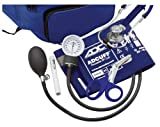 ADC Pro's Combo IV Adult Fanny Pack Essentials Kit with Prosphyg 760 Pocket Aneroid Blood Pressure Sphygmomanometer, Adscope 641 Sprague Stethoscope, 7.25' Medicut Shears and Adlite Penlight, Royal Blue