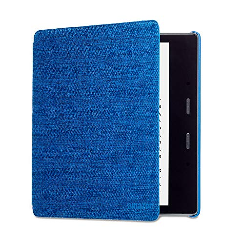 Kindle Oasis Hülle aus wasserwiderstandsfähigem Stoff, Blau— Nur passend für die 9.Generation (2017 Modell) & 10. Generation (2019 Modell).