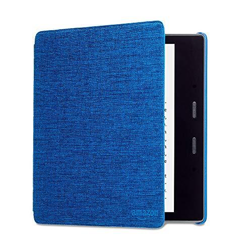 Kindle Oasis Hülle aus wasserbeständigem Stoff, Blau— Nur passend für die 9.Generation (2017 Modell) und 10. Generation (2019 Modell).