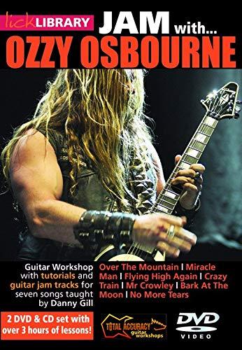 LICK LIBRARY JAM WITH OZZY OSBOURNE GTR [DVD]