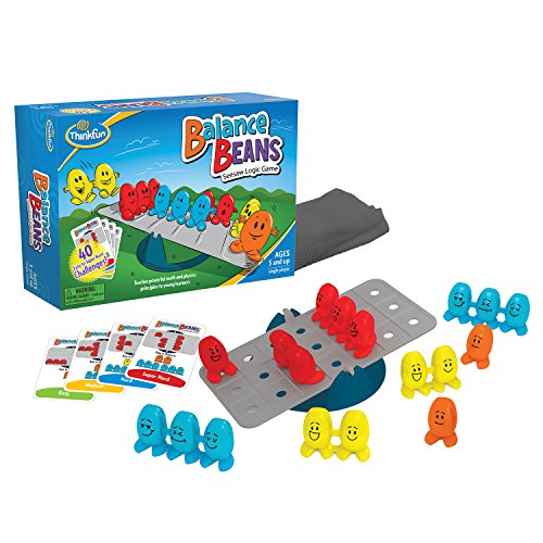 Product Image of the ThinkFun Balance Beans Math Game For Boys and Girls Age 5 and Up - A Fun, Award...