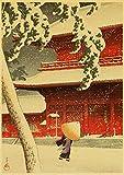 HuGuan Lienzo Y Arte De Pared PóSter 60x90cm Estilo Antiguo japonés Adecuado para la decoración del hogar T7 Pintura Pared Y Estampados Cuadros Sin Marco