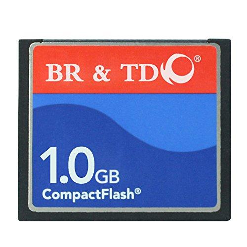 Compact Flash BR&TD - Tarjeta de Memoria para cámara (1 GB)