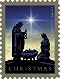 Nativity Forever First Class Postage Stamp U.S. Holy Family Holiday Christmas Sheets (20 Stamps) (Booklet of 20 stamps)