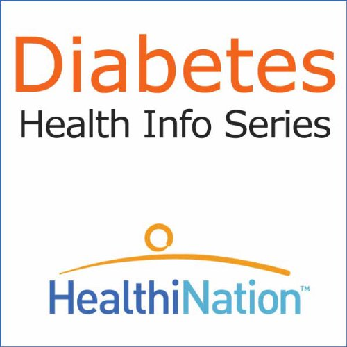 Diabetes audiobook cover art