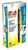 Paper Mate Replay Premium - Bolígrafo de gel borrable, punta media de 0,7 mm, negro, 1 unidad