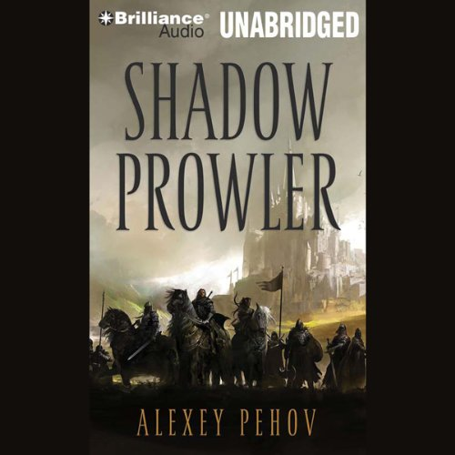Shadow Prowler audiobook cover art
