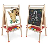 Best Kids Easels - DLone Easel for Kids, Kids Easel with Wooden Review