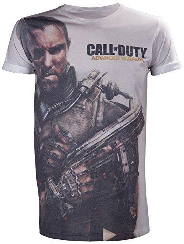Call Of Duty Advanced Warfare T-Shirt -L- AOP Subl [Importación Alemana]