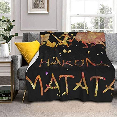 Manta suave y cálida de doble cara para cama, sofá, coche, 127 x 102 cm