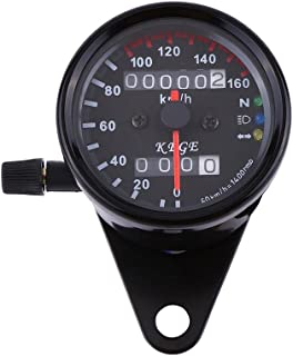 KUS GPS Indicateur de vitesse Indicateur de vitesse 15Knots 28KM//H pour les bateaux Yachts 85mm avec r/étro/éclairage blanc