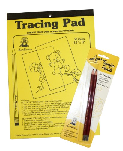 Aunt Martha's Create Your Own Iron-On Pattern Kit