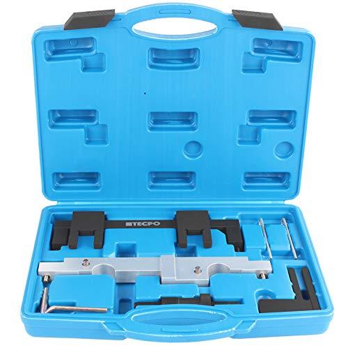 TECPO Nockenwellen Arretierung Werkzeug Motoreinstellwerkzeug passend für BMW N43 1.6 2.0