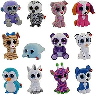TY Mini Boo Figures SERIES 2 - COMPLETE SET OF 12 - (NO DUPLICATES!)