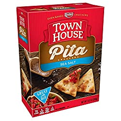 Keebler, Town House Pita, Crackers, Sea Salt, 9.5 oz