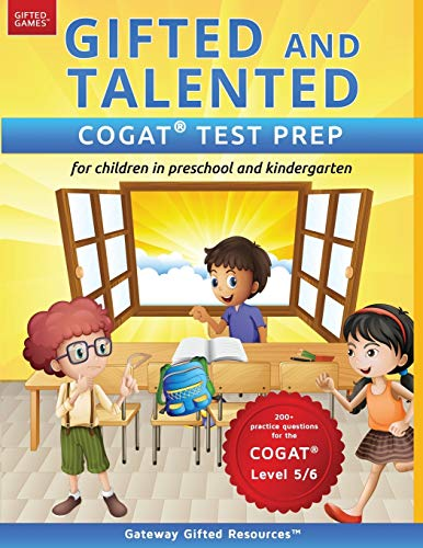 Compare Textbook Prices for Gifted and Talented COGAT Test Prep: Gifted test prep book for the COGAT; Workbook for children in preschool and kindergarten Gifted Games  ISBN 9780997943917 by Resources, Gateway Gifted