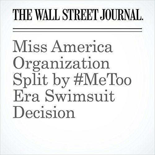 Miss America Organization Split by #MeToo Era Swimsuit Decision copertina
