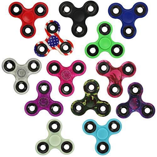 Iconikal Fidget Spinner Bulk Assortment Set, 24-Pack