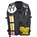 Nerf Rival Official NERF Tactical Vest Licenced Jacket Medium Large Size - Rival Phantom Corps Tactical Vest for Nerf Guns with Adjustable Straps. Must Have Gear for Kids, Teenagers, Adults