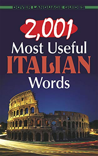 2,001 Most Useful Italian Words (Dover Language Guides Italian)