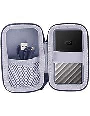 WD My Passport SSD 1TB 2TB 500GB 512GB 対応収納保護ケース-WERJIA.JP