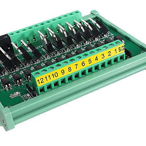 Módulo electrónico 12CH 12V IO tarjeta PLC amplificador de la