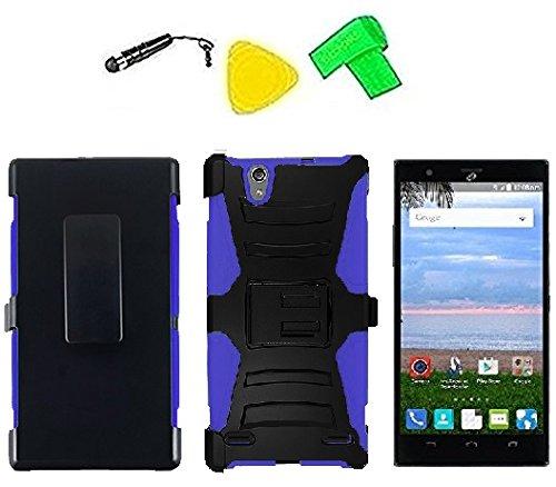 Belt Clip Holster w Heavy Duty Armor Hybrid Phone Cover Case Cell...