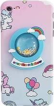 "Bling Unicorn Case for iPhone 6 Plus/ 6s Plus 5.5"",3D Cartoon Cute Crystal Ball Quicksand Glitter Stars Cover, iPhone 6 Plus Case iPhone 6s Plus Case Kawaii Fashion for Kids Teens Girls Women (Blue)"