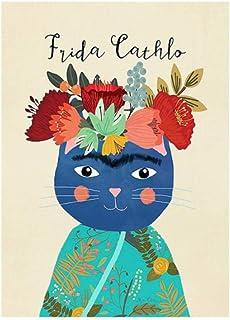 Poster Affiche Aquarelle Femmes Module Canves Prints, Art Mural, Art Pour La Décoration Murale Sans cadre 60*80CM(20*27inc...