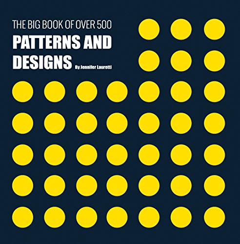 THE BIG BOOK OF OVER 500 PATTERNS AND DESIGNS: Fractal, Geometrical, Asymmetrical, Victorian, Arabesque, Nature, Dots, 3D, Abstract, Floral and More (English Edition)