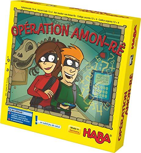 HABA-Le Petit Verger Opération Amon Rê calcul-Jeu éducatif-8 Ans et Plus-Réf 5768, Multicolore