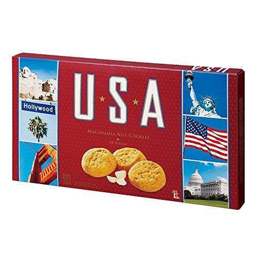 アメリカお土産 USA マカデミアナッツクッキー