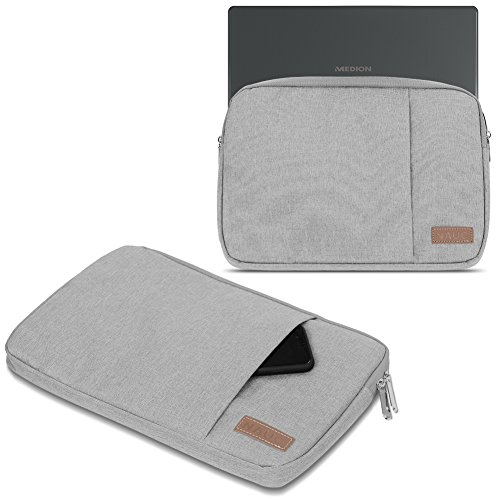 UC-Express Notebook Tasche kompatibel für Medion Akoya E3222 E3223 Hülle Schutzhülle Cover Schutz Hülle Bag, Farbe:Grau (Grey)