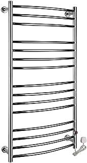YIDTO Cuarto de baño Moderno Termoestático Electro Térmico Toallero Minimalista Cuarto de baño Panel Plano Radiador Calentador de Toallas Radiador Calentador de Toallas Radiador montado en la Pared