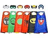 ATOPDREAM Geschenk Junge 3-12 Jahre, Superhelden Kostüme für Kinder Spielzeug ab 3-10 Jahren für Jungen Halloween Kostüm Kinder Grundschul Superhelden Weihnachts Geschenke für Kinder ab 3-12 Jahre