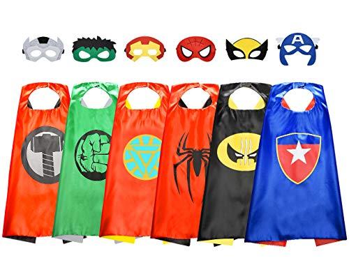 ATOPDREAM Geschenk Junge 3-12 Jahre, Superhelden Kostüme für Kinder Spielzeug ab 4 5 6 7 8 9 10 Jahren für Jungen Grundschul Superhelden Geschenke für 3-12 Jährige Jungen Spielzeug Kinder