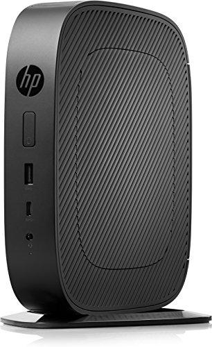 Hewlett Packard 2RC25EA#ABD Desktop PC (AMD A-Series GX-215JJ, 4GB RAM, AMD Radeon R2E, Win 10 Pro) Schwarz