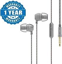 Drumstone 3.5Mm Wired Noise Isolating Headphones Earbuds Stereo in Ear Earphones
