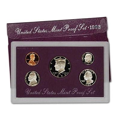 1993 S US Mint Proof Set OGP