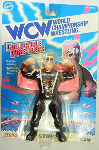 WCW Collectible Wrestlers Series 3 Sting by Toymakers 1994