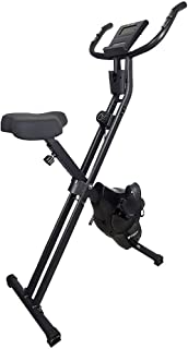 STEADY フィットネスバイク (最新UXモデル)【心拍数計測 / 静音 / 小型 / 折りたたみ式 / 負荷8段階】ST102