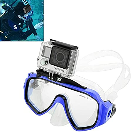 Xiaoyi and Other Act //3//2 //1 Action Camera Accessory GOpro Accessories Water Sports Diving Equipment Diving Mask Swimming Glasses with Mount for GoPro New Hero //HERO6 //5//5 Session //4 Session //4//3