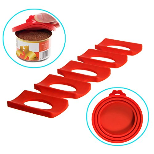 Buy Cheap Dog And Cat Food Storage Rack By GTP To Keep Shelves Tidy PLUS 2 Bonus Can Covers - Great ...