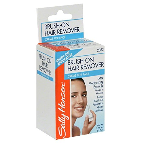 Sally Hansen Pain Free Brush On Hair Remover Creme For Face Extra...