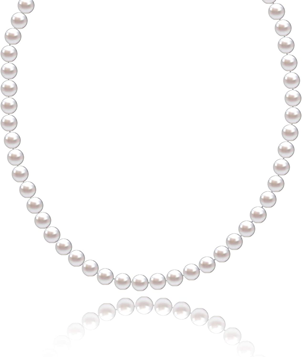 Lalynnly Award 14K Gorgeous AAAA Quality Classic Freshwater Cultured Pear White