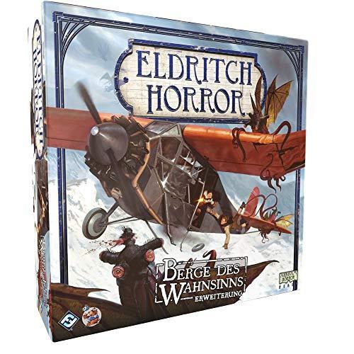 Eldritch Horror - Berge des Wahnsinns - Erweiterung Brettspiel   DEUTSCH   Lovecraft Horror