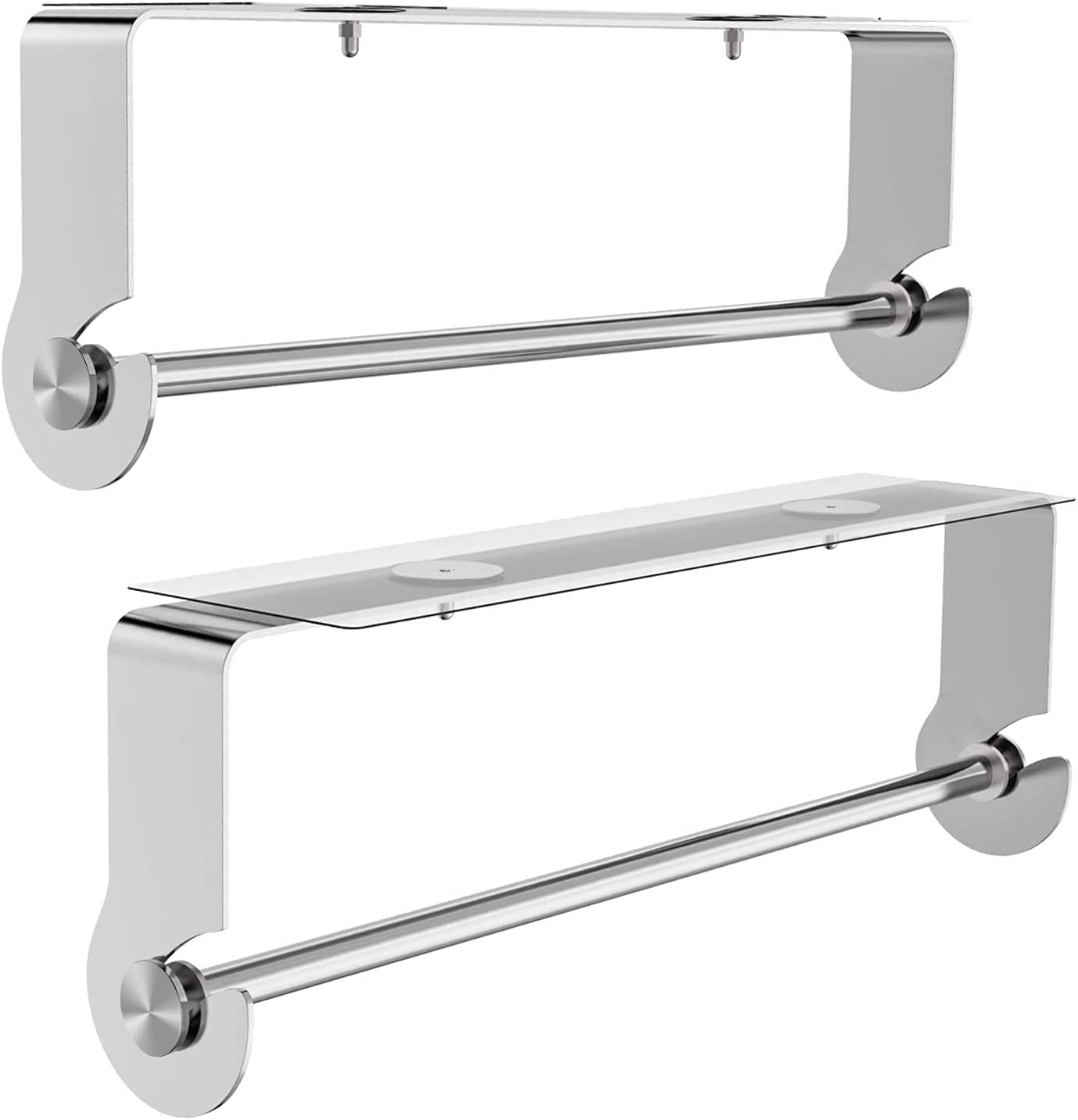 Excellent Baltimore Mall 2-Pack Paper Towel Holder with Moun Wall Under Adhesive Cabinet
